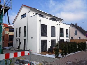 """Neubau Doppelhaushälfte in gehobener Bauweise in unserem Projekt """"Wohnen am Berg"""""""