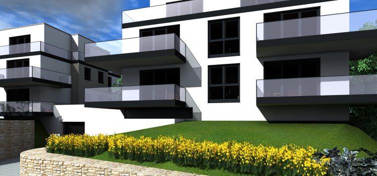 """Haus III aus unserer Neubau Wohnanlage """"Blick Löffelstelz"""""""